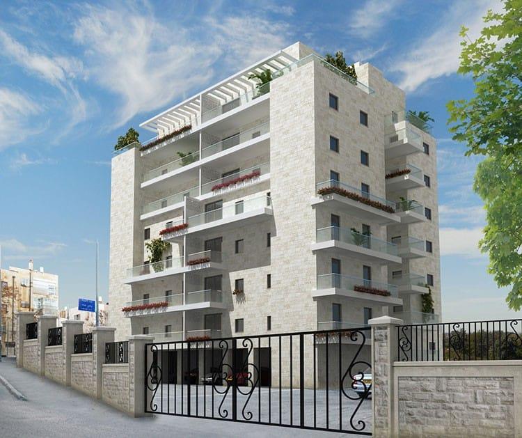 Shaul HaMelech 63, Jerusalem – After implementation of Tama 38 project