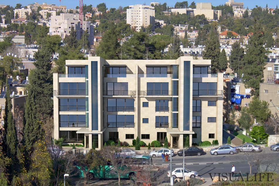 Ben Zakai 6, Jerusalem – After implementation of Tama 38 project