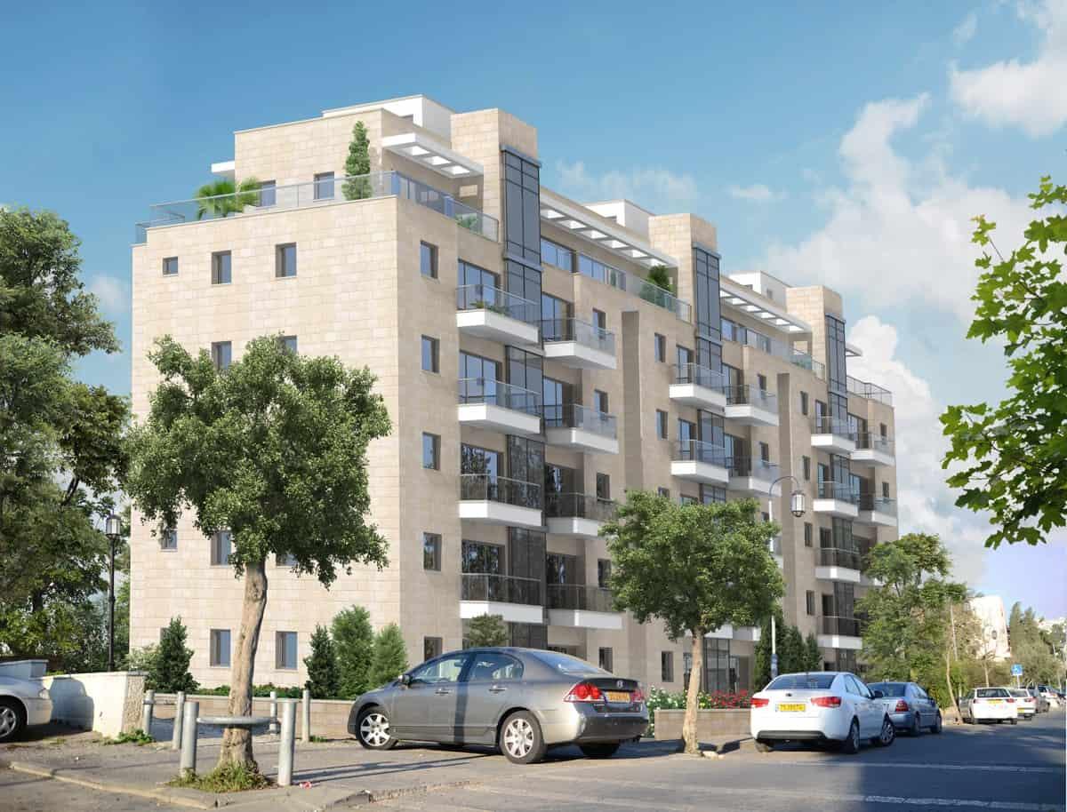 HaShomer 10, Jerusalem – After implementation of Tama 38 project