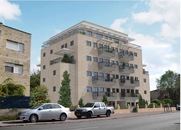 Elazar HaModa'i 4, Jérusalem – Après la mise en œuvre de Tama 38 projet