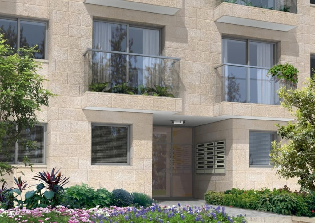 Elmaliach 144, Jerusalem – After implementation of Tama 38 project