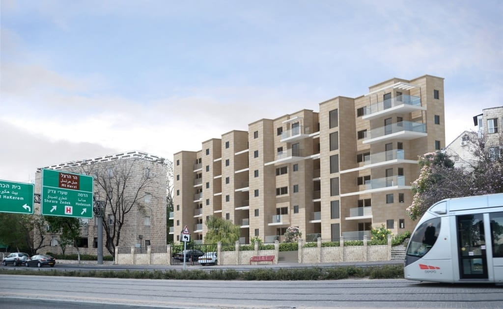 Tama 38 project in Jerusalem – Herzl 62