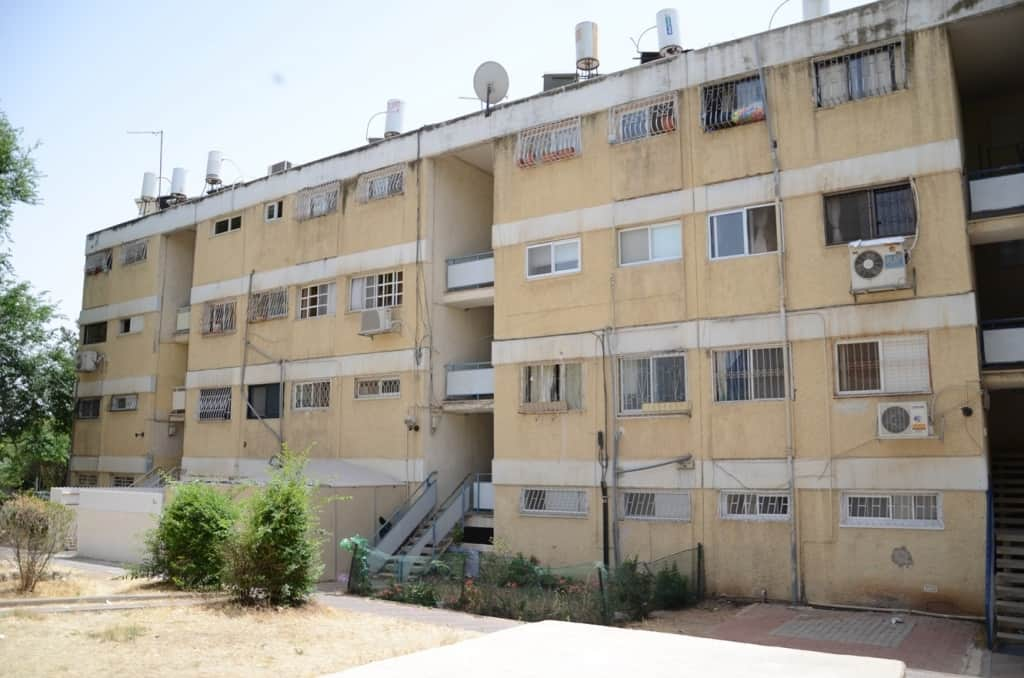 Dehomey 10, Jerusalem - Before implementation of Tama 38 project