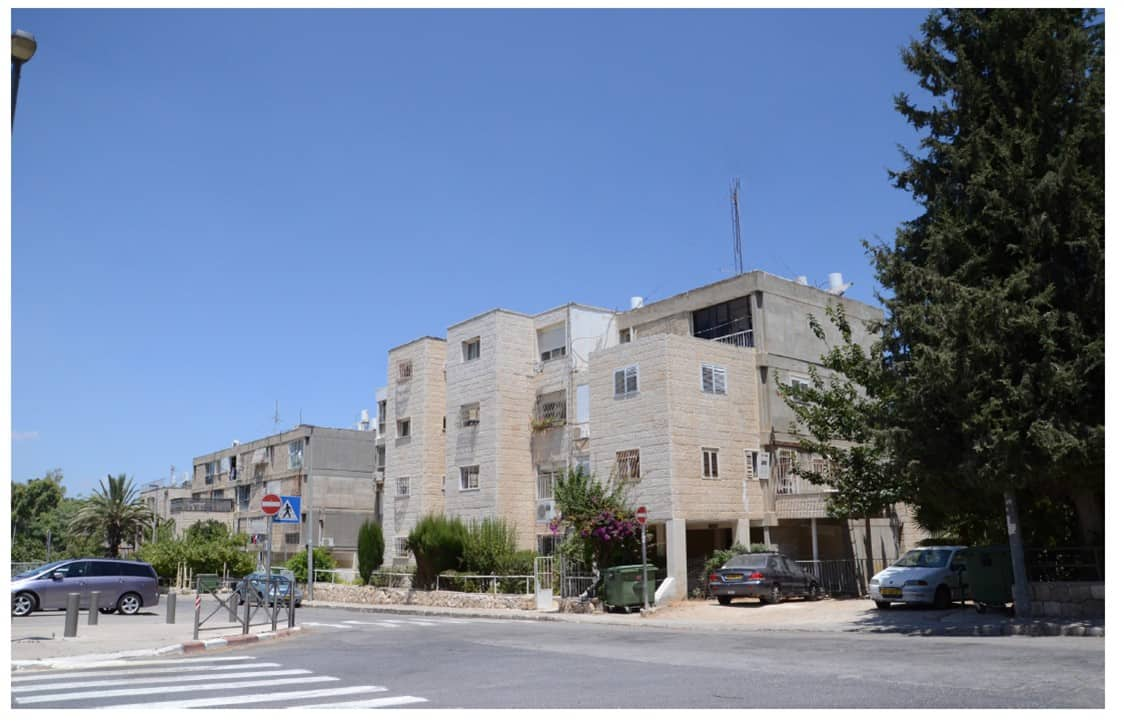Ben Yefune 10, Jerusalem – Before implementation of Tama 38 project