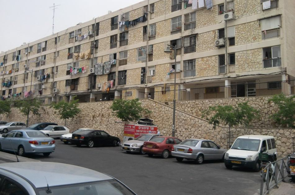 Bar Yohai 18, Jerusalem – Before implementation of Tama 38 project