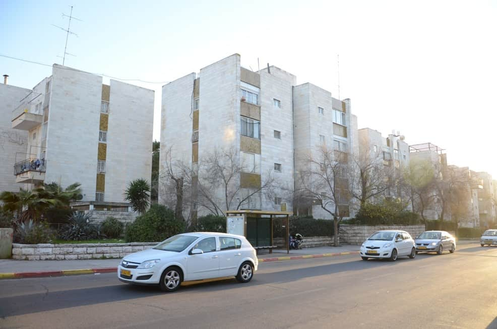 Yam suf, Jerusalem – Before implementation of Tama 38 project