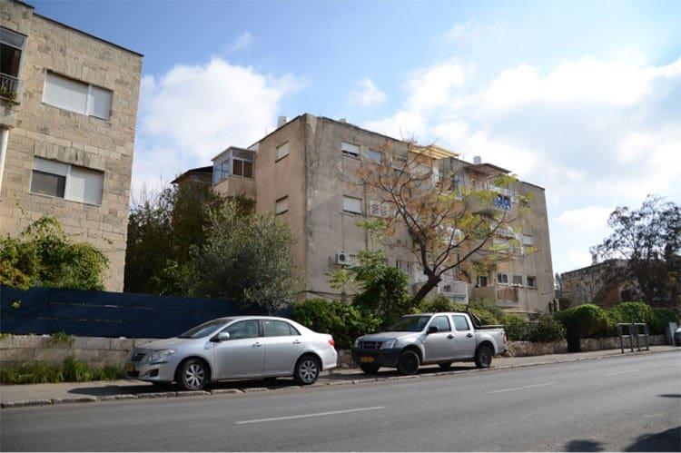 Elazar HaModa'i 4, Jérusalem – Avant la mise en œuvre de Tama 38 projet
