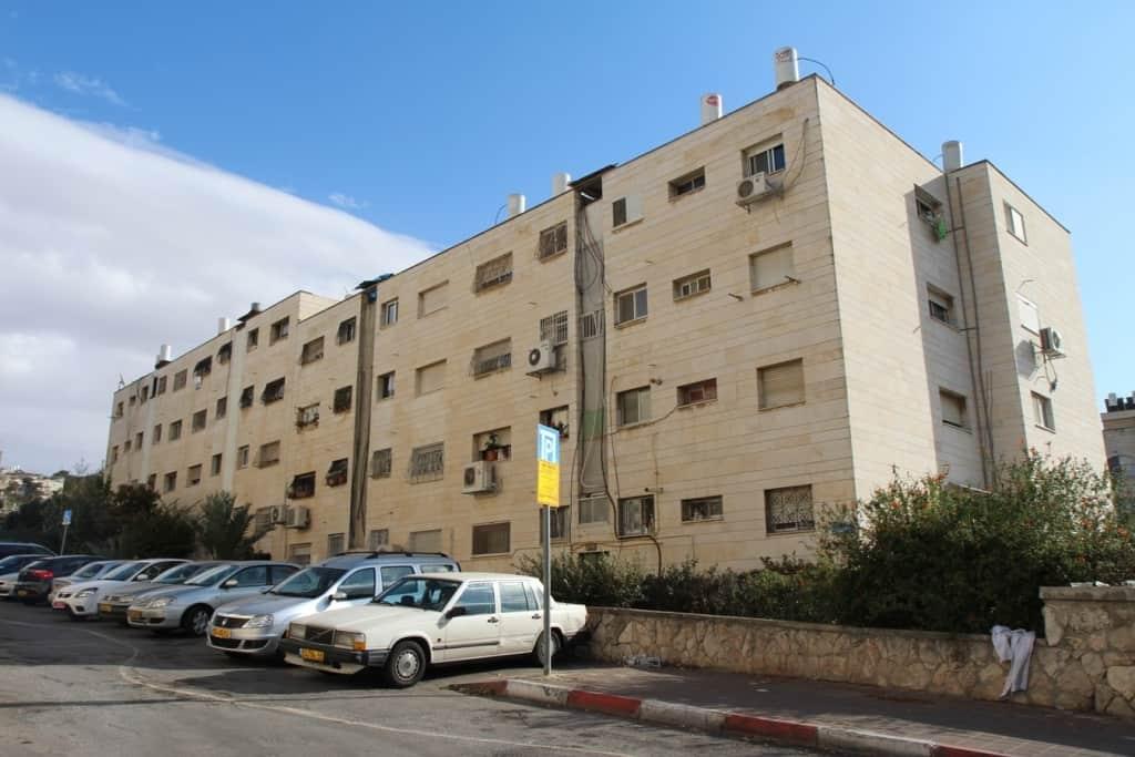 דרך חברון 116, ירושלים - לפני פרויקט תמא 38