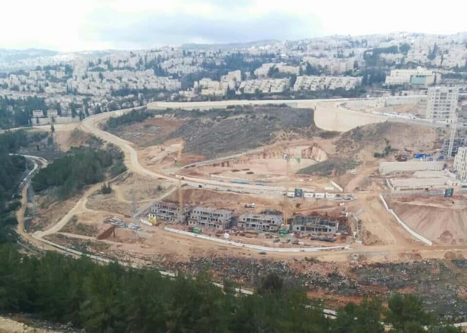 קבוצת רכישה בירושלים – רמות הירוקה – בשלבי עבודה