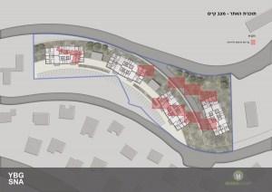 Pinui Binui à Jérusalem - Brésil, Kiryat Ha'Yovel - Plan du site
