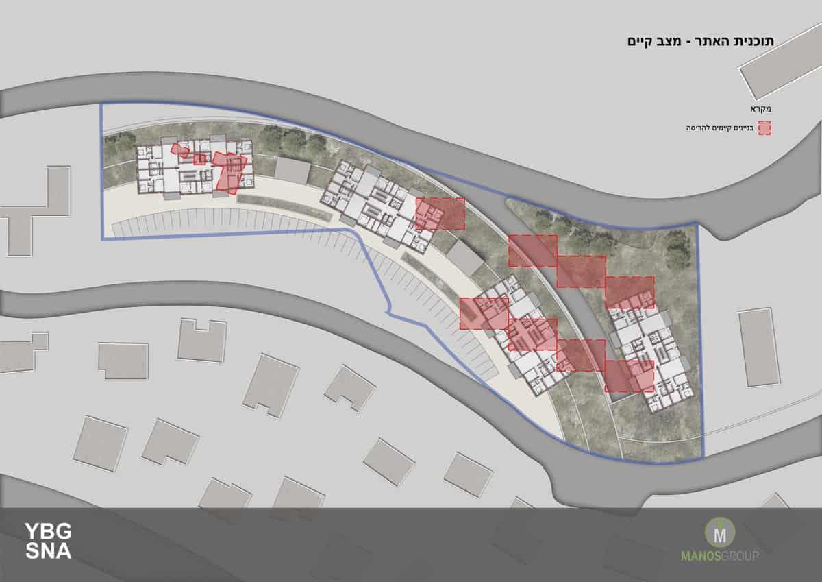 פינוי בינוי בירושלים - תכנית אתר מתחם ברזיל, קרית היובל
