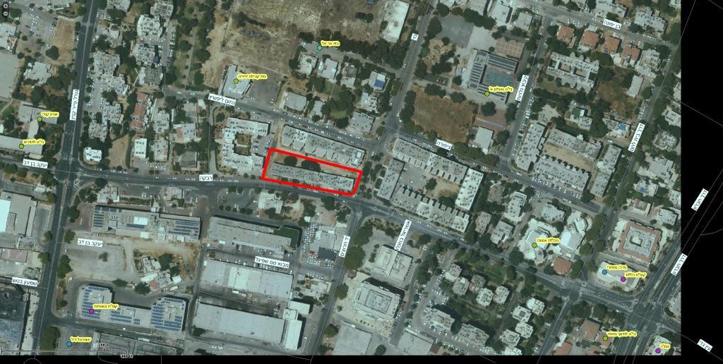 רבקה 22, ירושלים - GIS
