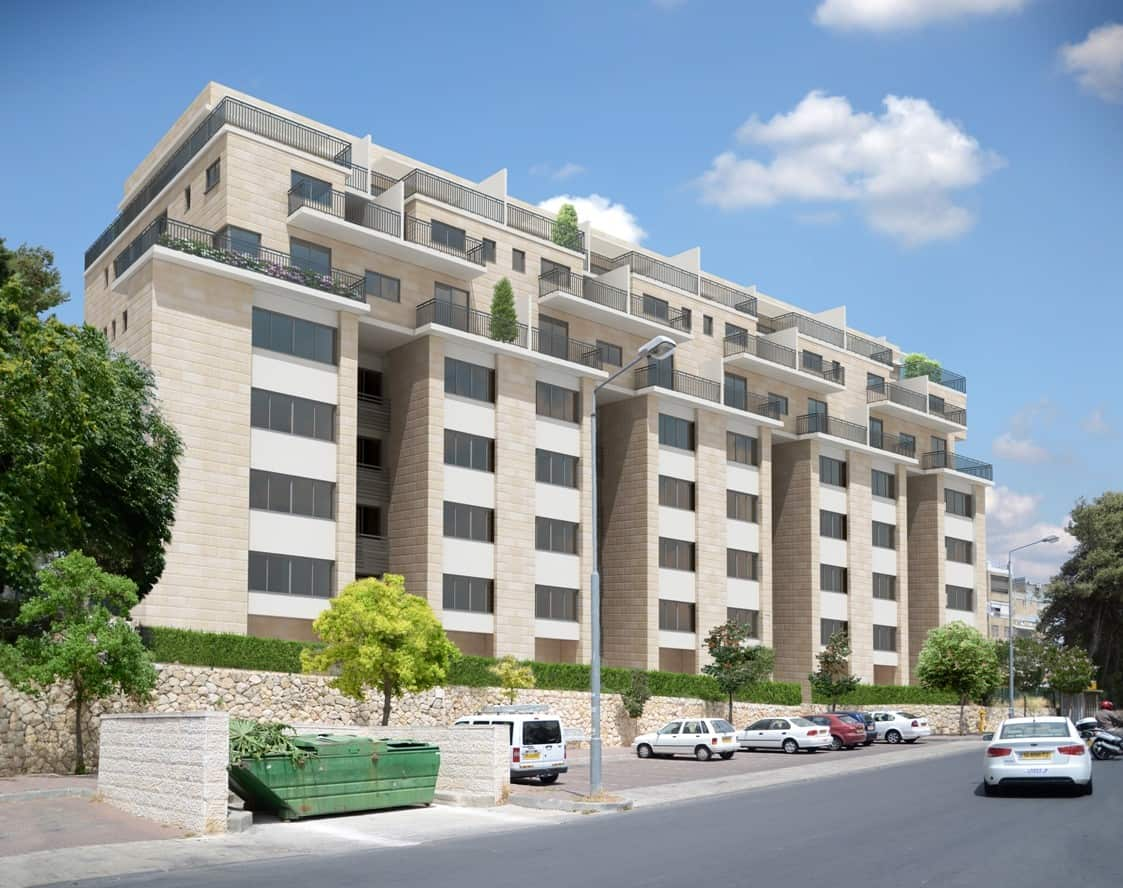 Dehomey 10, Jerusalem - After implementation of Tama 38 project