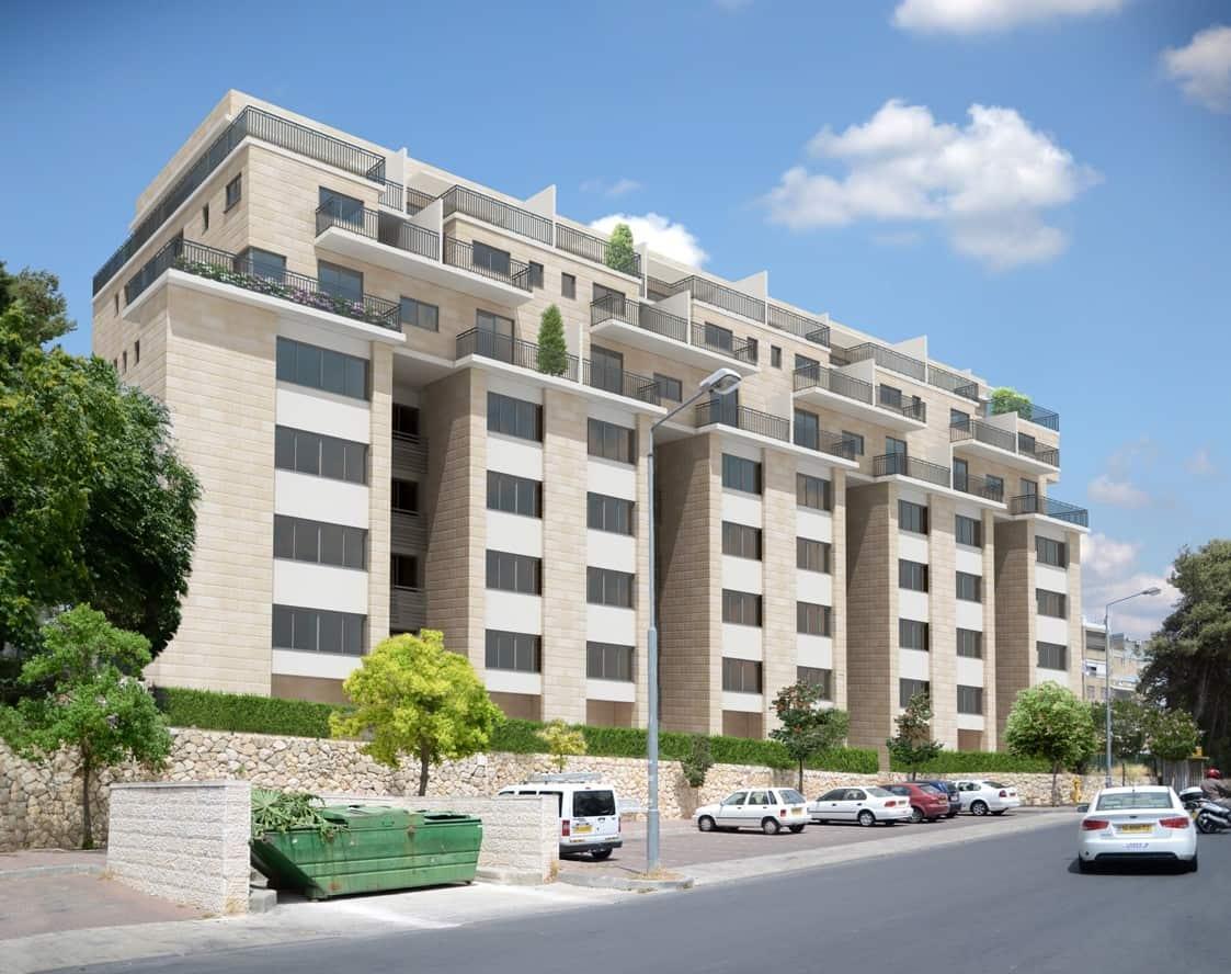 Dehomey 10, Jerusalem - After implementation of Tama 38 project