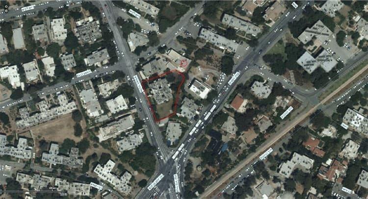"""פרויקט תמ""""א 38 בירושלים - אלעזר המודעי 4 - GIS"""