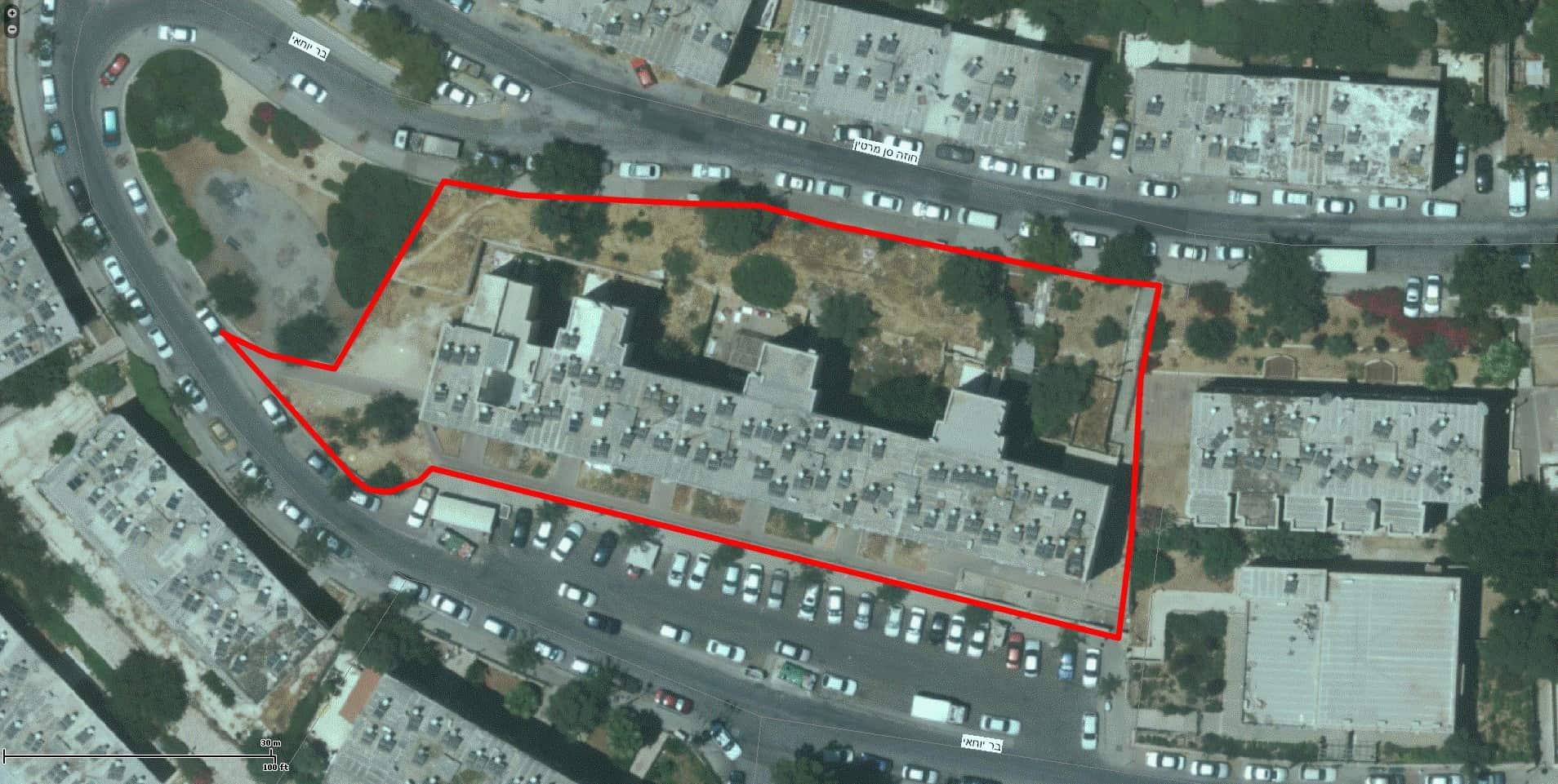 בר יוחאי 18, ירושלים - GIS
