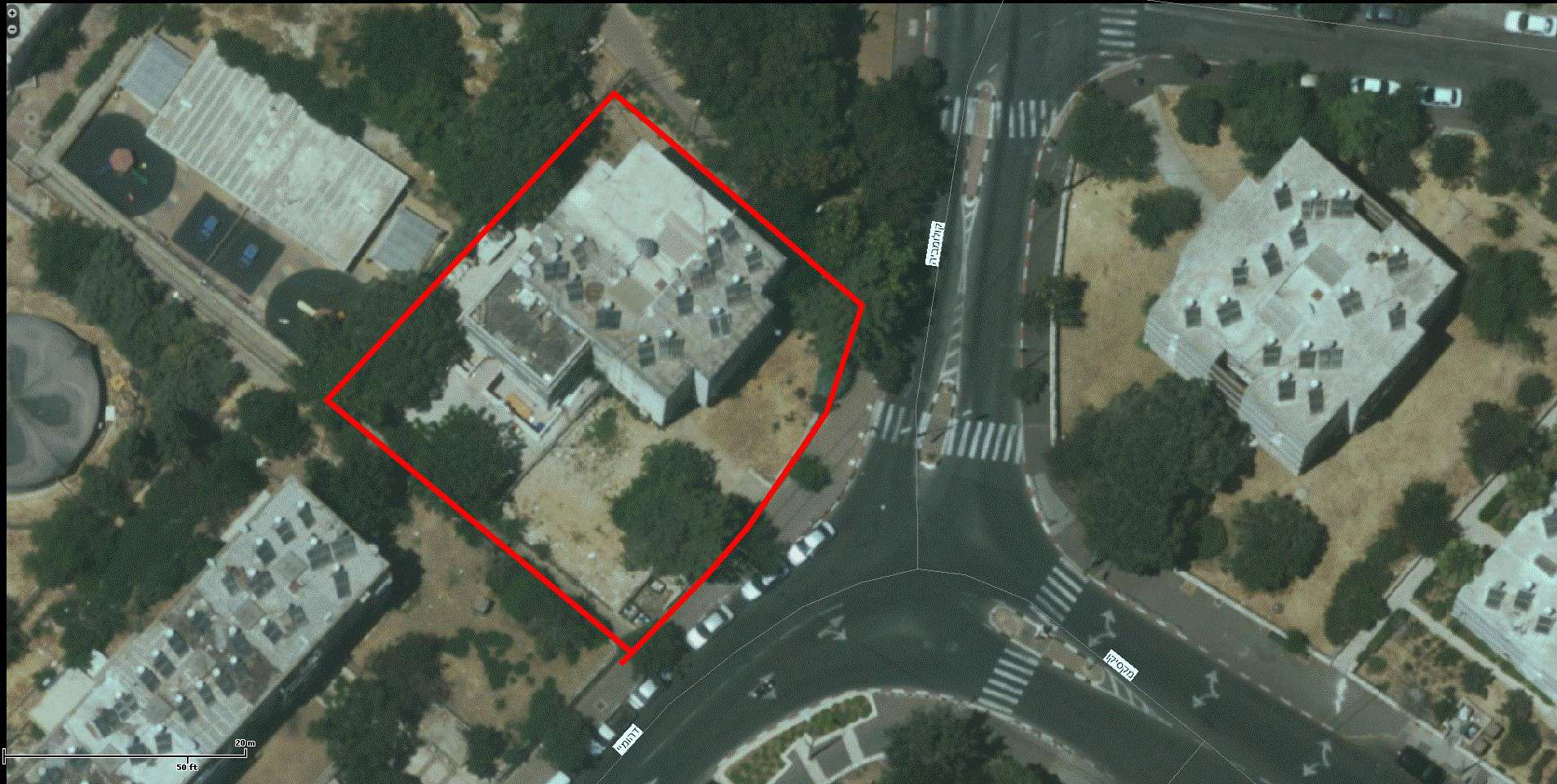 TAMA 38 project in Jerusalem – Dehomey 2 – GIS