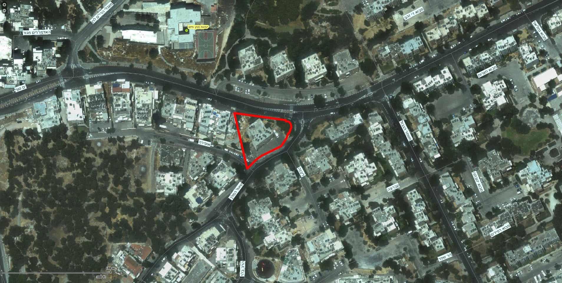 Shaul HaMelech 63, Jerusalem – GIS