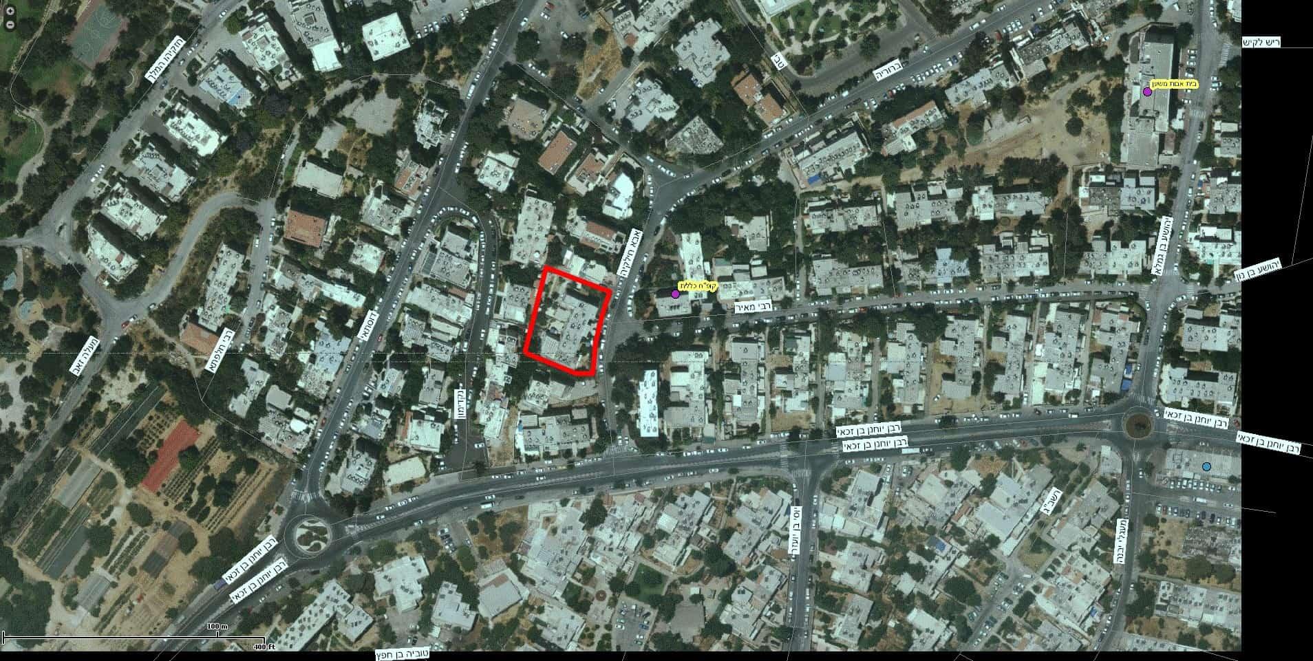 Aba Khilkiya 5, Jerusalem - Tama 38 project - GIS