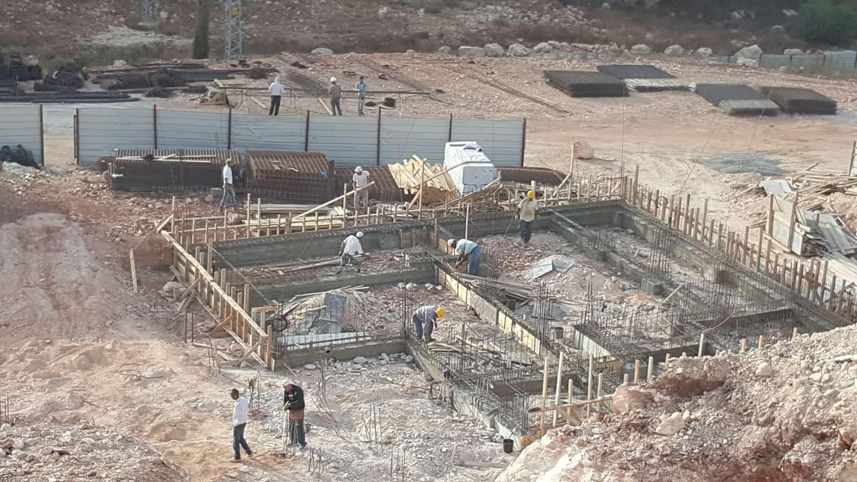 קבוצת רכישה בירושלים - רמות הירוקה - בשלבי עבודה