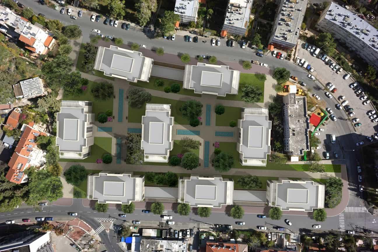 פינוי בינוי - מתחם אורוגוואי - הדמיה