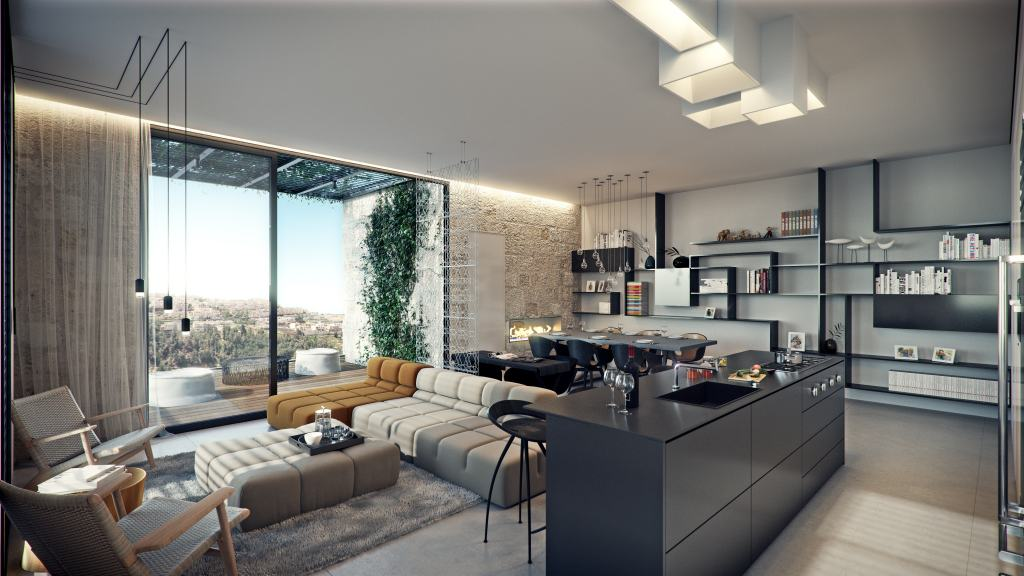 Elazar HaModa'i 4, Jerusalem – Interior view imaging