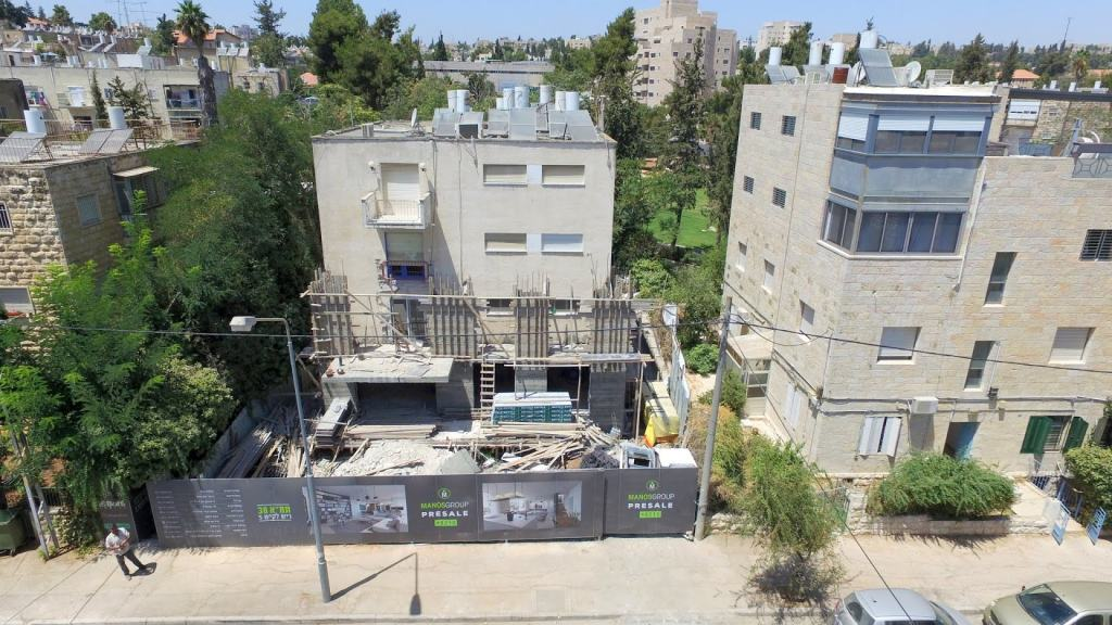 Reish Lakish 5, Jerusalem, Jerusalem – Before implementation of Tama 38 project