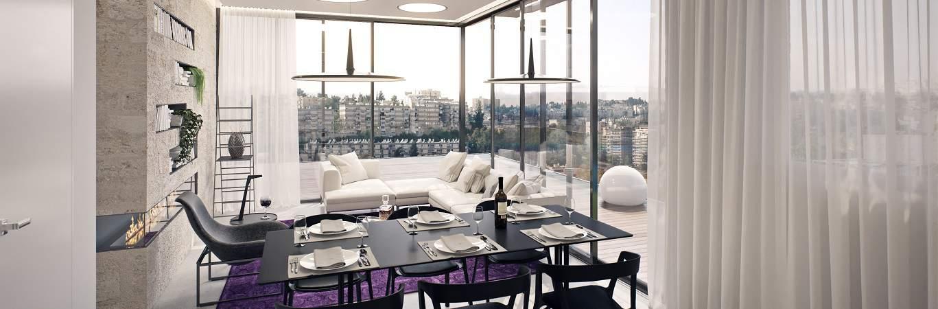 """תמ""""א 38 בירושלים - פרויקט בוליביה - הדמיה"""