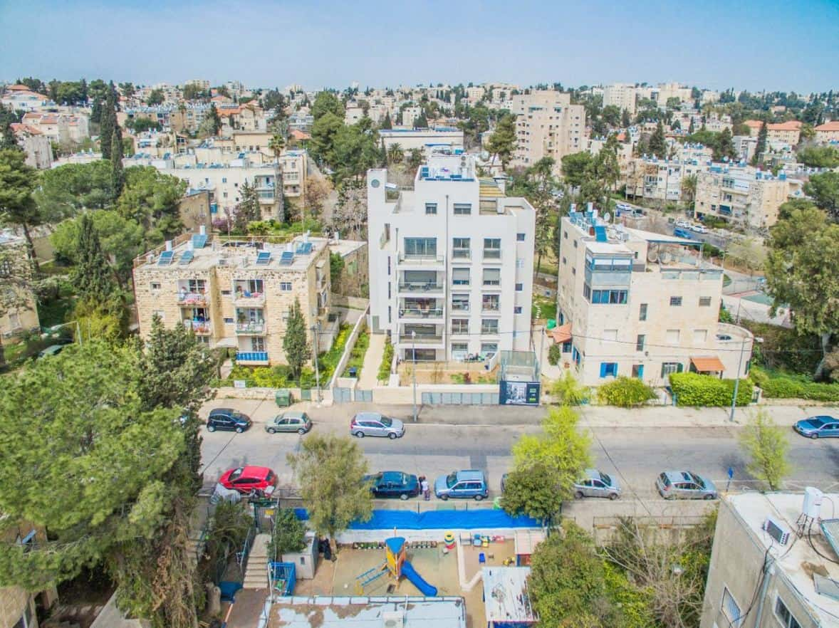 TAMA 38 project in Jerusalem – Rish Lakish 5 – After Completion