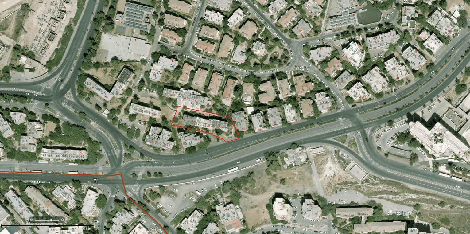 הרצל 62 - פרויקט התחדשות עירונית בירושלים תמ