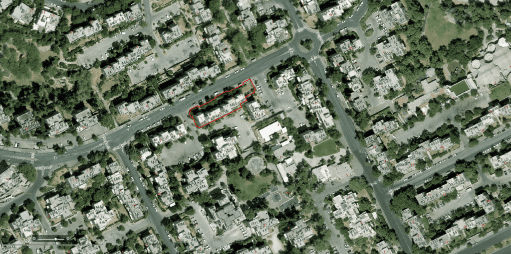 Yam suf, Jerusalem – Tama 38 project - GIS
