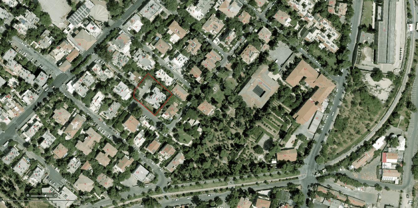 Dids 6, Jerusalem – GIS