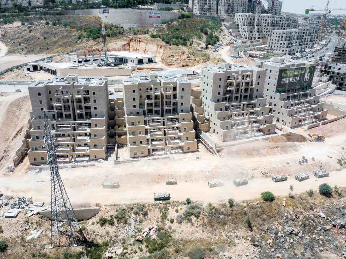 Groupe d'acquisition à Jérusalem | Ramot Vert – Travaux de construction