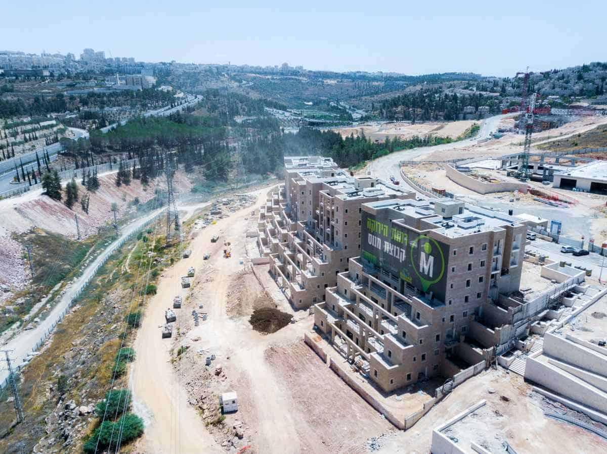 רמות הירוקה, ירושלים - שלבי עבודה
