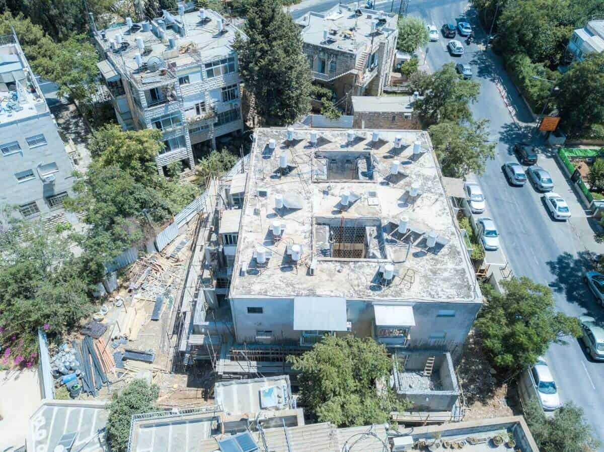 """פרויקט תמ""""א 38 בירושלים - אלעזר המודעי 4 - בשלבי בניה"""