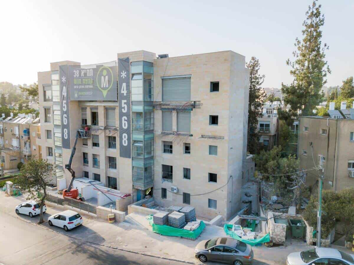 Ben Zakai 6, Jerusalem – TAMA 38 project in Jerusalem – Construction works