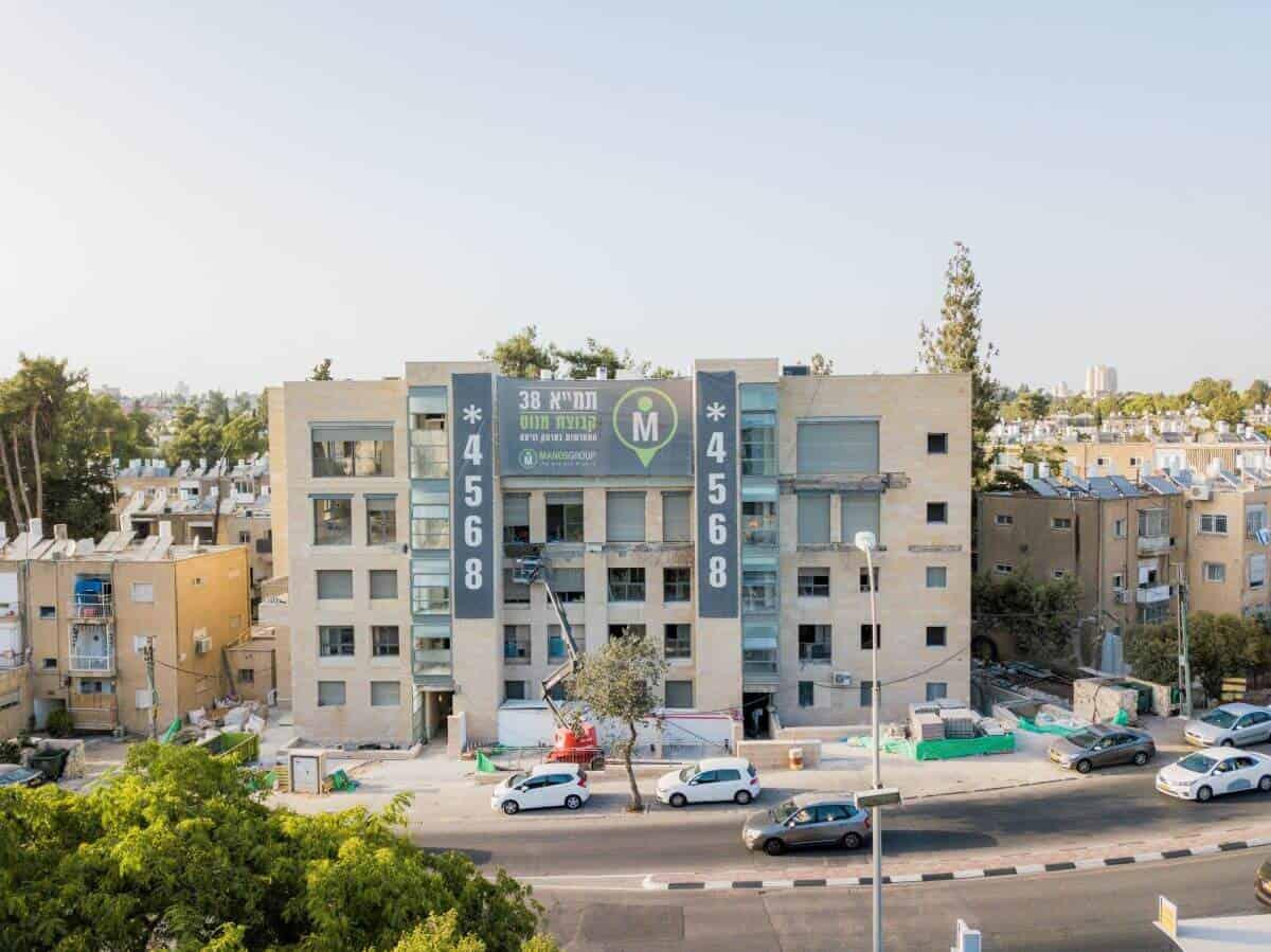 Ben Zakai 6, Jerusalem – TAMA 38 project in Jerusalem – Construction works