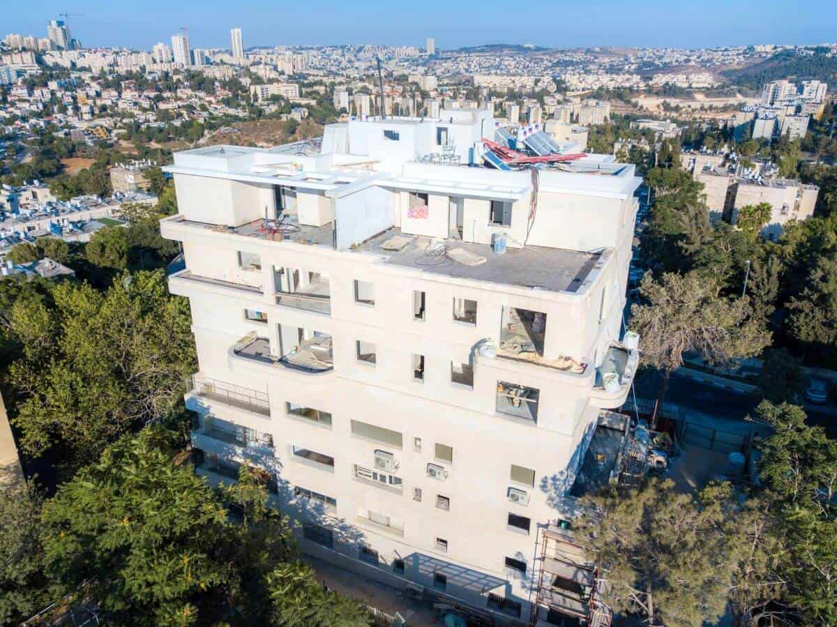 TAMA 38 project in Jerusalem – Dehomey 2 – Construction works