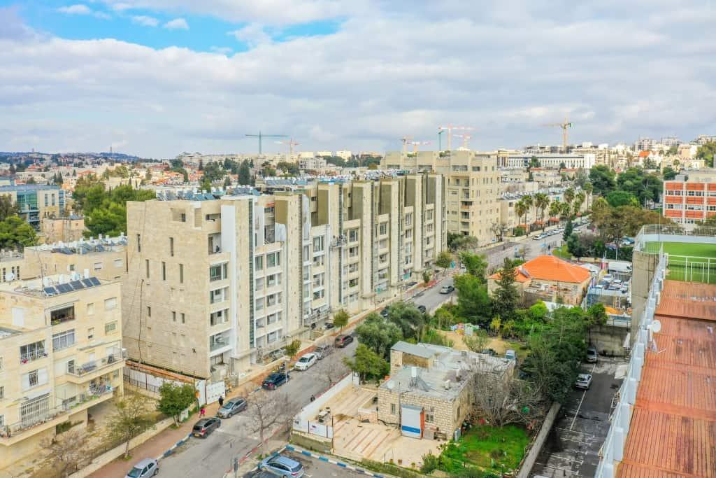 תמא 38  - ירושלים, רבקה 22 - בשלבי בנייה