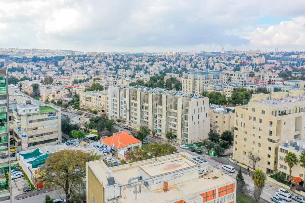 תמא 38  - רבקה 22, ירושלים - בשלבי בנייה