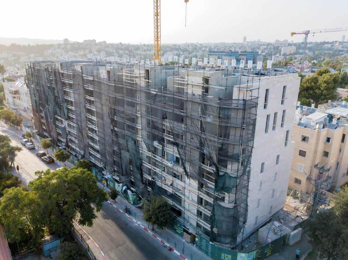 תמא 38 בירושלים - רבקה 22 - בשלבי בנייה