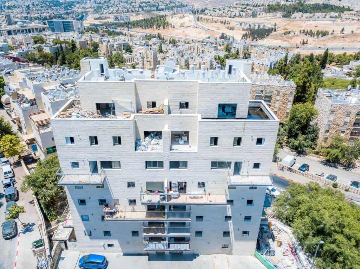 Shaul HaMelech 63, Jerusalem – Project TAMA 38 in Jerusalem - Construction Works