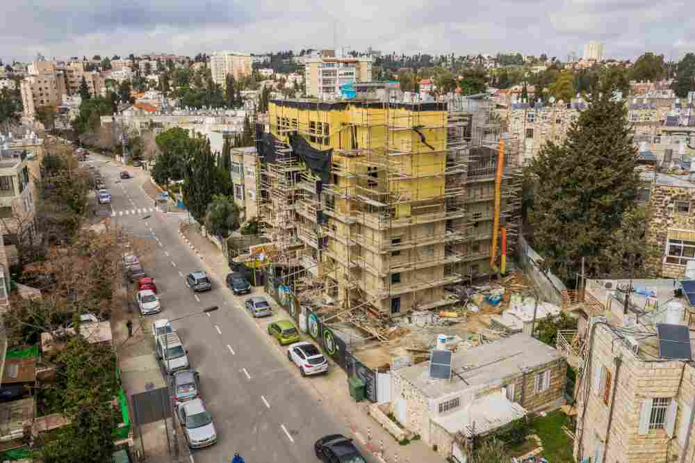 Elazar HaModa'i 4, Jérusalem – Tama 38 projet