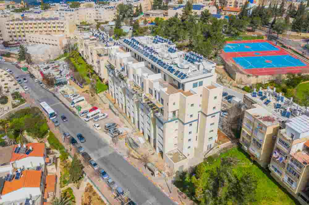 פרויקט תמ״א 38 בירושלים- שלבי בנייה