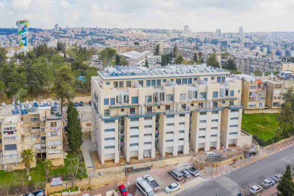 TAMA 38 project in Jerusalem – Dehomey 10