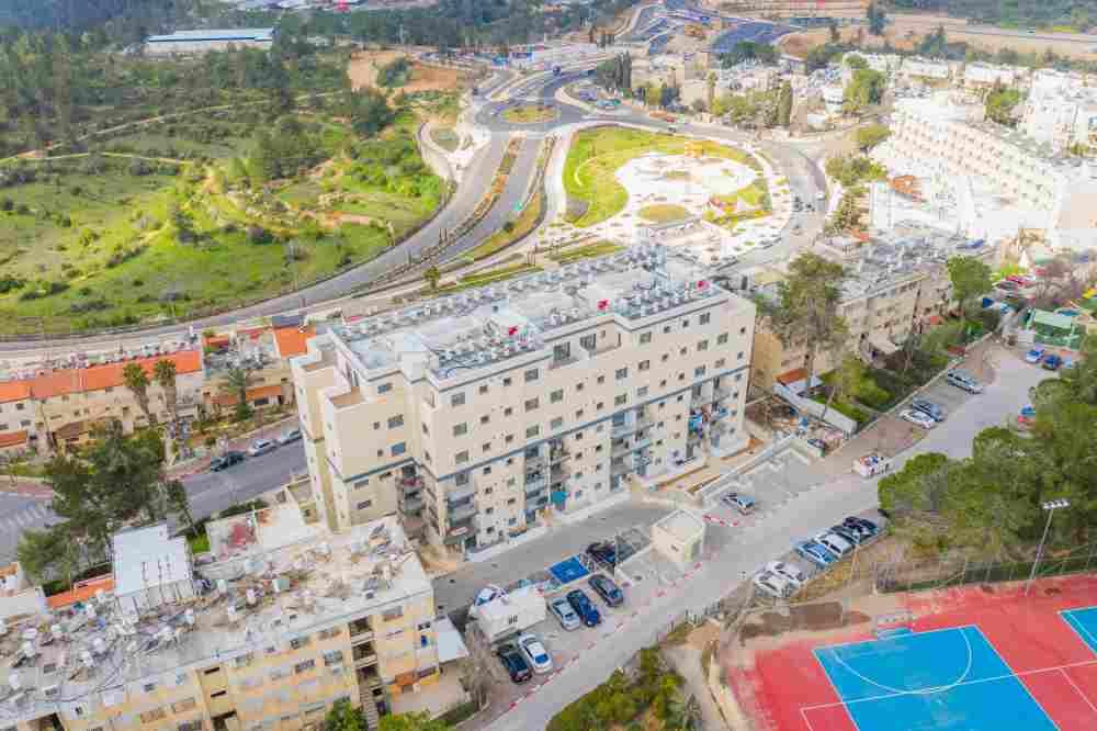 TAMA 38 project in Jerusalem – Construction works