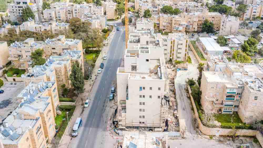 """ים סוף 5 – פרויקט תמ""""א 38 – בשלבי בנייה 30/04/19"""