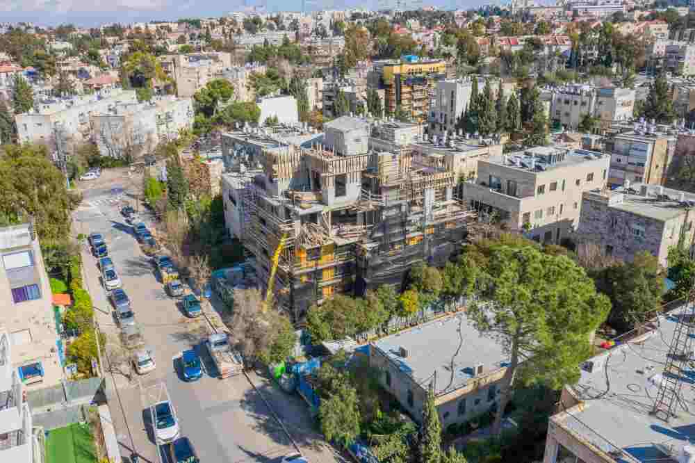 ריש לקיש 5, ירושלים - פרויקט תמא 38 - שלבי בנייה