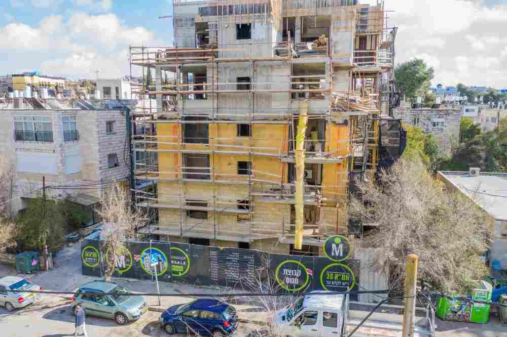 TAMA 38 project – Rish Lakish 5 – Construction phase