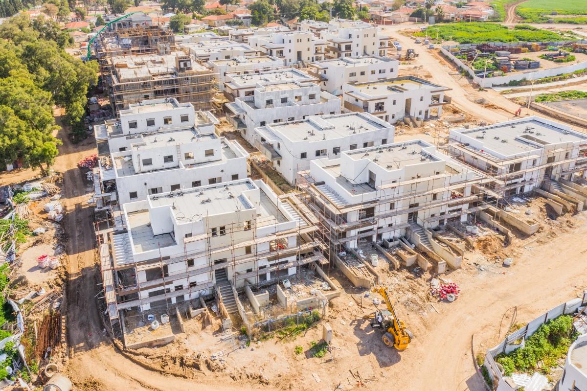קבוצת רכישה אלומה הירוקה - עבודות בניה
